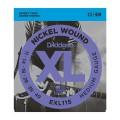 D'ADDARIO EXL115 струны для эл.гит., Blues/Jazz Rock, никель, 11-49