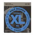 D'ADDARIO EHR350 струны для эл.гит., Jazz Light, Half Round, 12-52