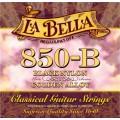 LA BELLA 850B - струны - черный нейлон, обмотка - золото, натяж -37,75 кг