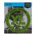 D'ADDARIO EXL117 струны для эл.гит, Medium Top/Extra Heavy Bottom , 11-56